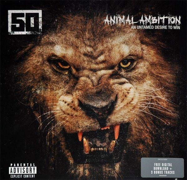 50 CENT Animal Ambition: An Untamed Desire To Win 2LP
