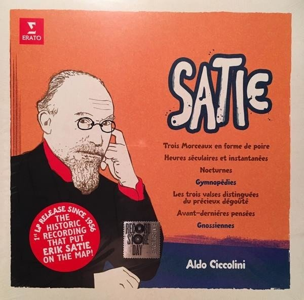 ALDO CICCOLINI Eric Satie LP