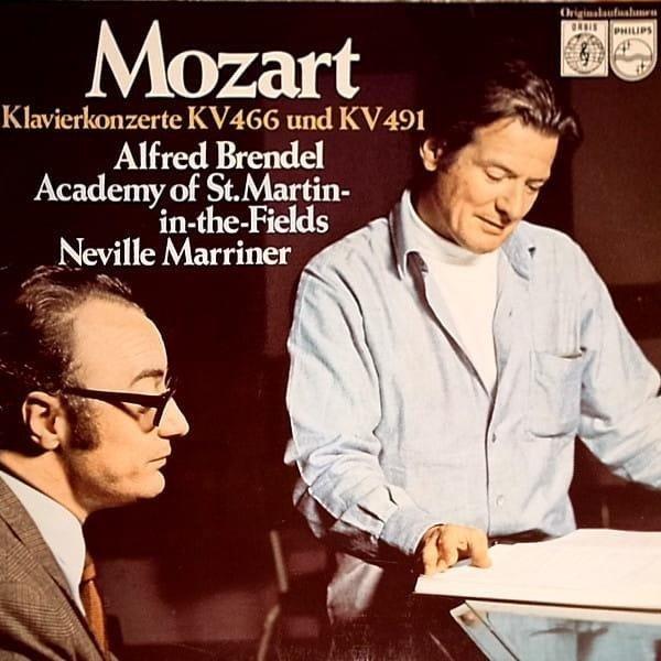 ALFRED BRENDEL Mozart Piano Concertos LP