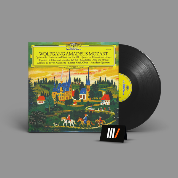 AMADEUS QUARTET Mozart LP