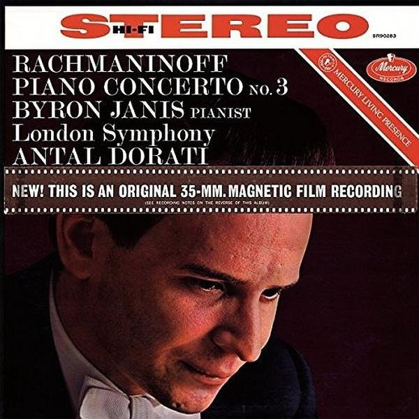 ANTAL DORATI Mercury Liveing Presence: Rachmaninov Piano Con.3 LP