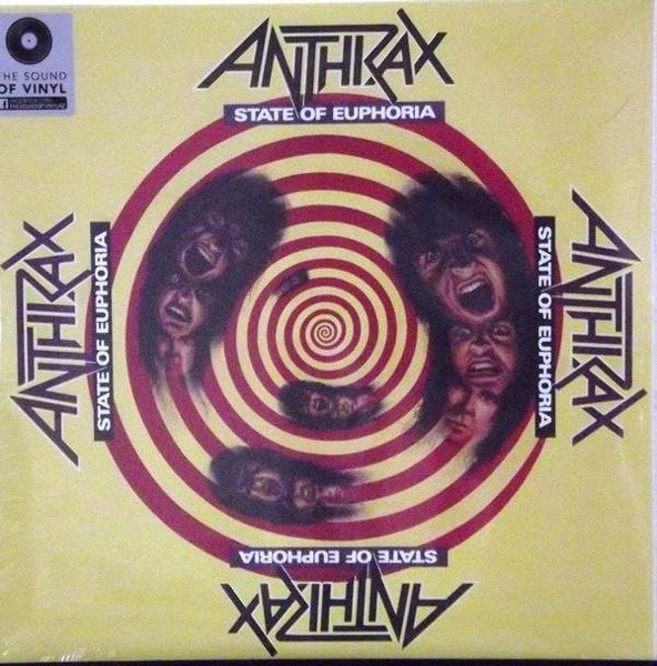 ANTHRAX State Of Euphoria  2LP