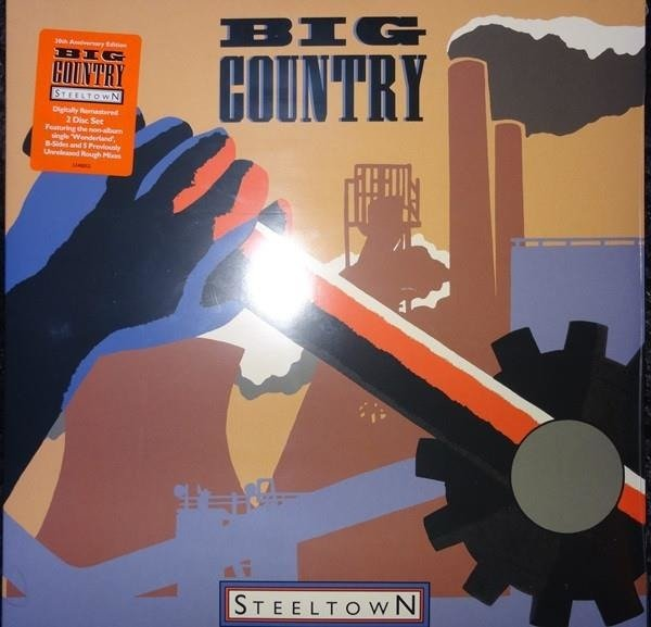 BIG COUNTRY Steeltown  2LP