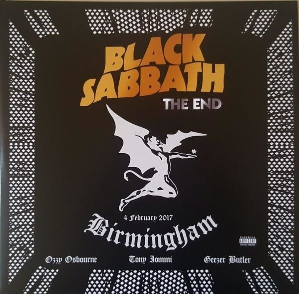 BLACK SABBATH The End 3lp Ltd. LP