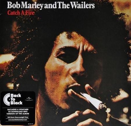 BOB MARLEY & THE WAILERS Catch A Fire LP