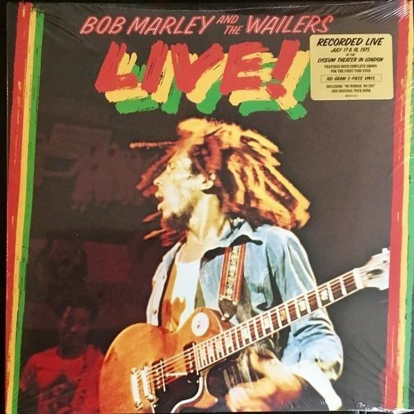 BOB MARLEY & THE WAILERS Live!  3LP
