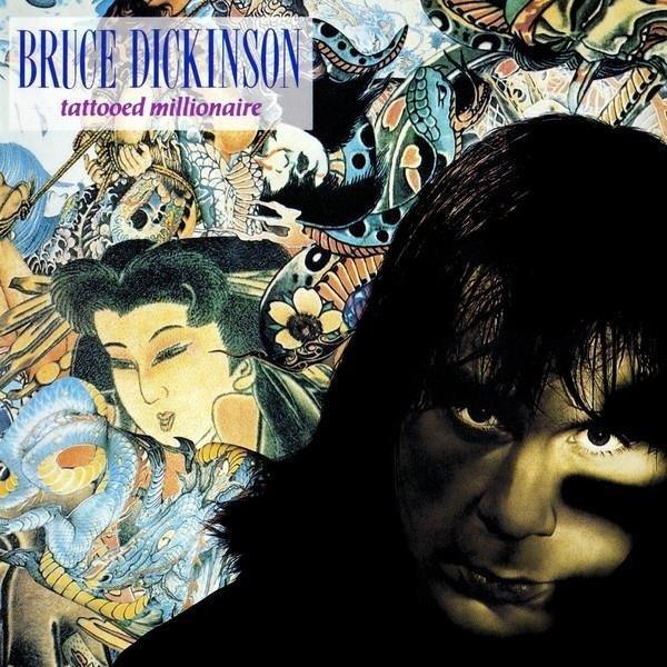 BRUCE DICKINSON Tattooed Millionaire LP