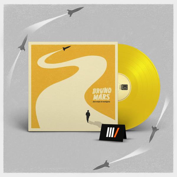 BRUNO MARS Doo-Wops & Hooligans LP YELLOW