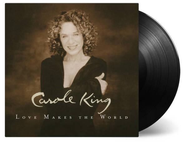 CAROLE KING Love Makes the World LP