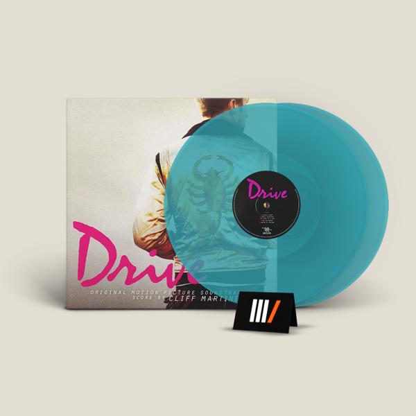 CLIFF MARTINEZ Drive OST 2LP BLUE