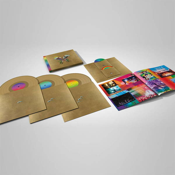 COLDPLAY Live In Buenos Aires/Live In Sao Paulo/A Head Full Of Dreams (+2DVD) 5LP