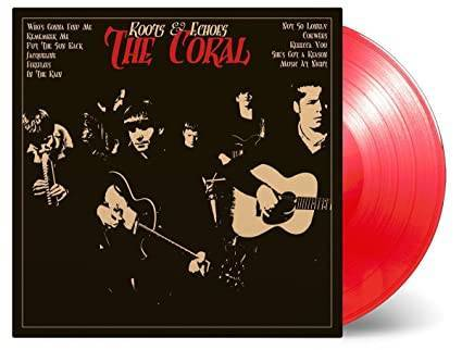 CORAL Roots & Echoes LP/Red Vinyl