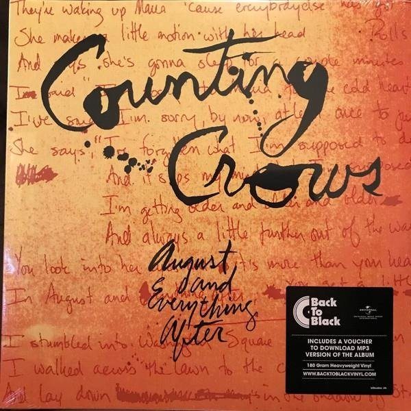 COUNTING CROWS August And Everthing After  2LP