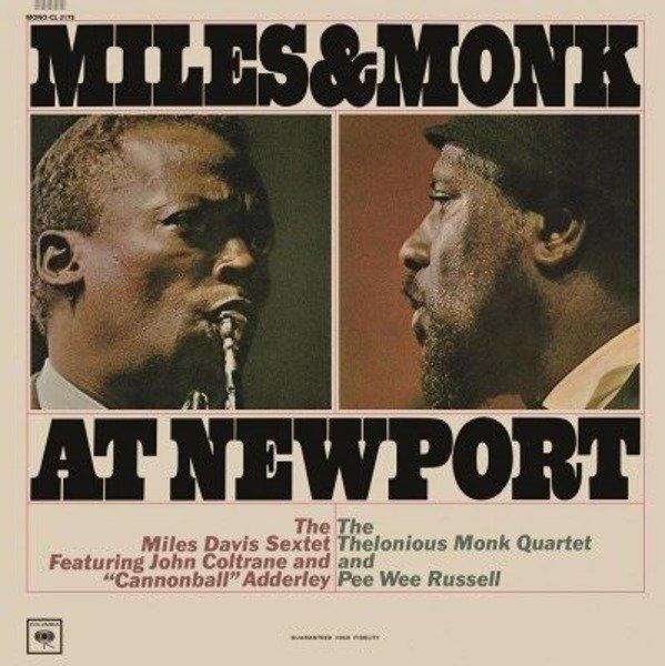 DAVIS, MILES Miles & Monk At Newport LP