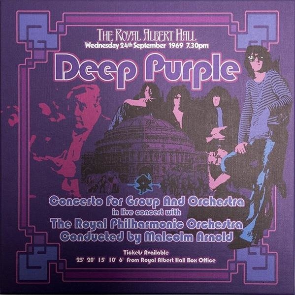 DEEP PURPLE Concerto For Group And Orchestra 3LP