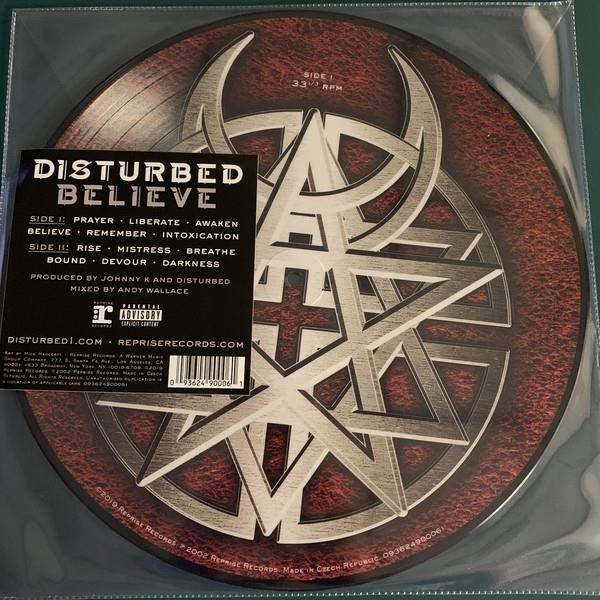 DISTURBED Believe (PICTURE Vinyl) LP