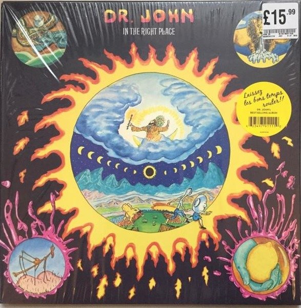 DR.JOHN In The Right Place LP