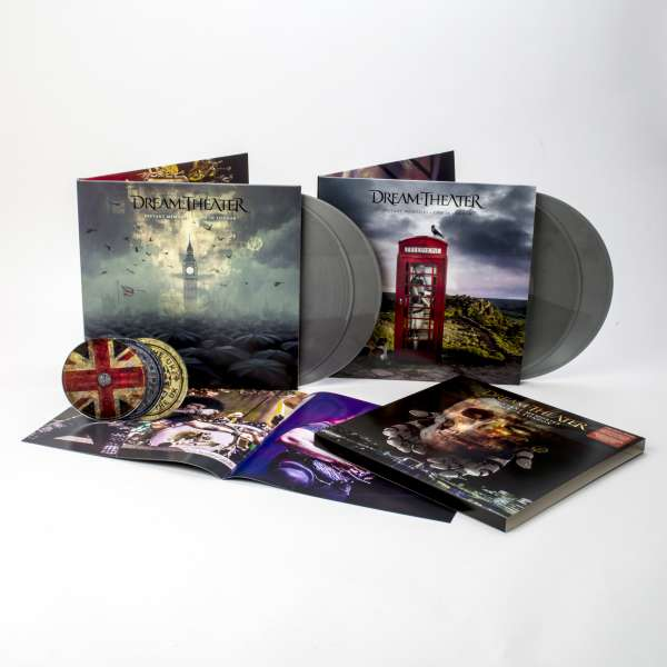 DREAM THEATER Distant Memories - Live in London 4LP 3CD SILVER