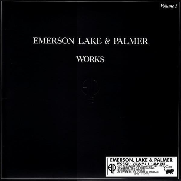 EMERSON, LAKE & PALMER Works Volume 1 2LP