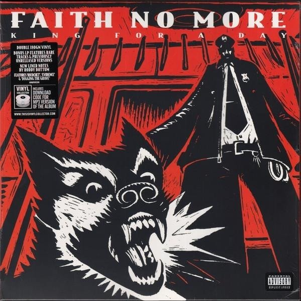 FAITH NO MORE King For A Day, Fool For A Life 2LP