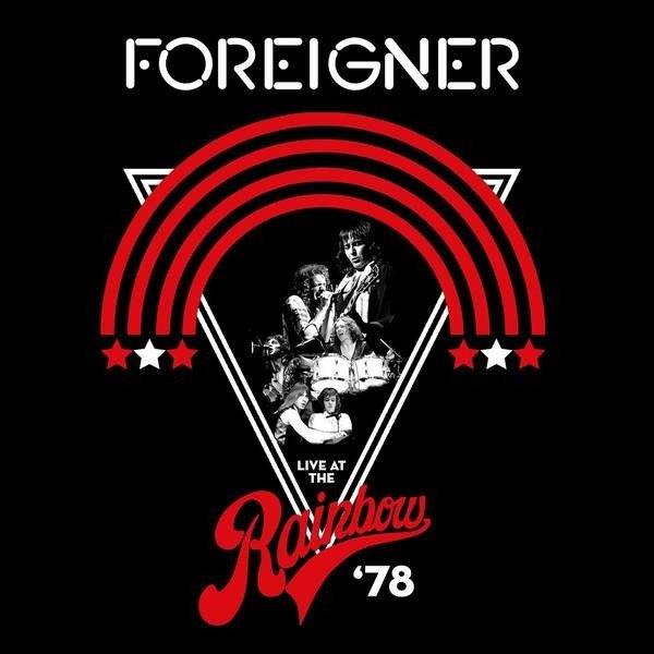 FOREIGNER Live At The Rainbow '78 LP