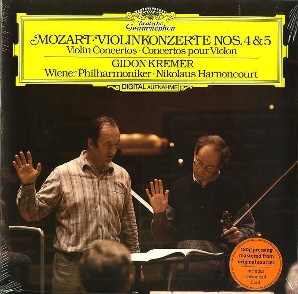 GIDON KREMER Mozart Violin Concertos 4 & 5 LP