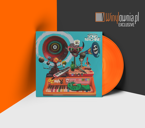 GORILLAZ Song Machine Season One: Strange Timez  LP LTD ORANGE