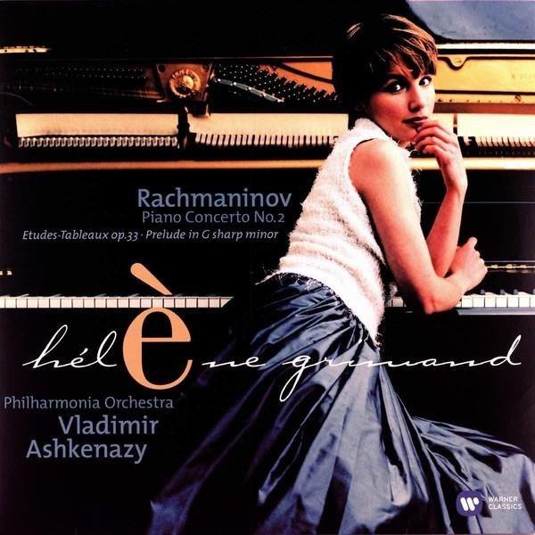 GRIMAUD/PHILHARMONIA ORCHESTRA/ASHKENAZY Rachmaninov: Piano Concerto No. 2 LP