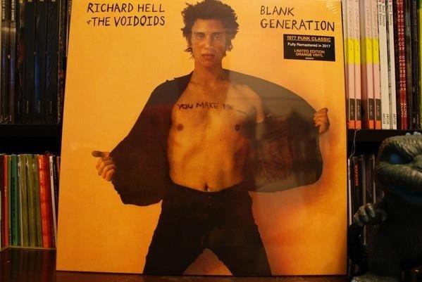 HELL, RICHARD AND VOIDOIDS Blank Generation LP