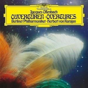 HERBERT VON KARAJAN Offenbach Overtures LP