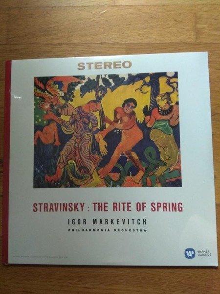 IGOR MARKEVITCH Stravinsky: Le Sacre Du Printemps LP