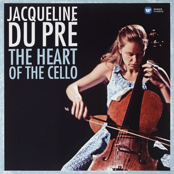 JACQUELINE DU PRE The Heart Of The Cello (COMPILATION - 30th Anniversary Of Death: October 19th) LP