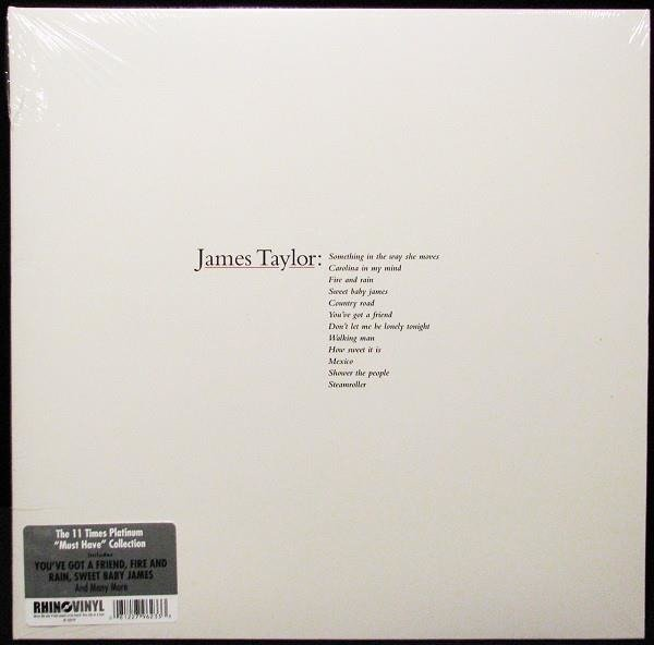 JAMES TAYLOR Greatest Hits LP