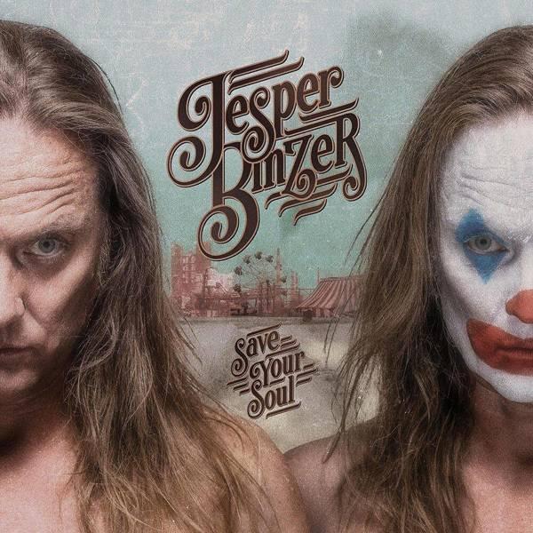 JESPER BINZER Save Your Soul LP BLUE