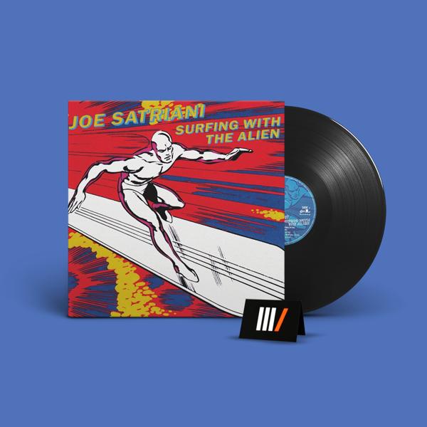 JOE SATRIANI Surfing With the Alien LP
