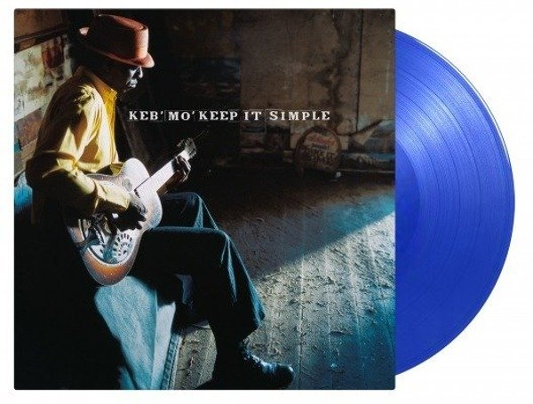 KEB'MO' Keep It Simple LP (Blue Vinyl)