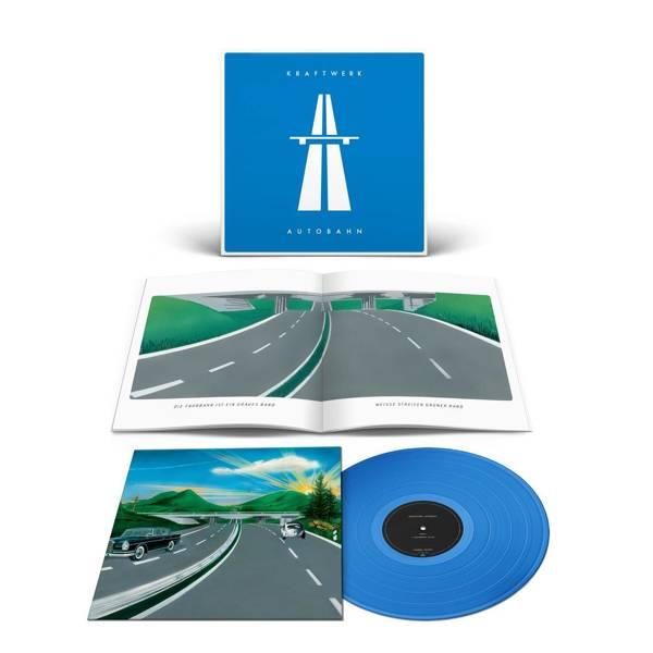 KRAFTWERK Autobahn LP Blue Vinyl
