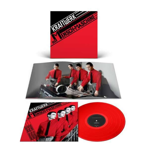 KRAFTWERK  Die Mensch-Maschine LP Red Vinyl