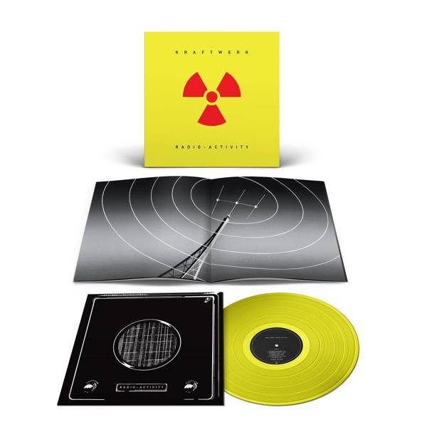 KRAFTWERK Radio-Activity LP Yellow Vinyl
