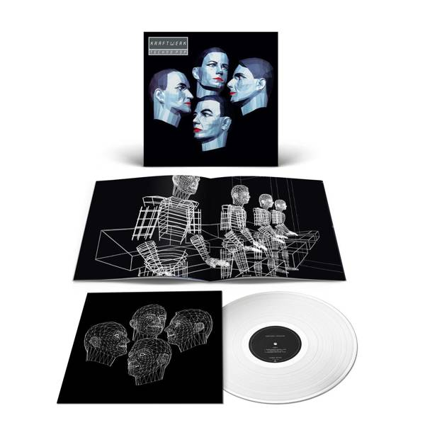 KRAFTWERK  Techno-Pop LP Silver Vinyl (GERMAN)