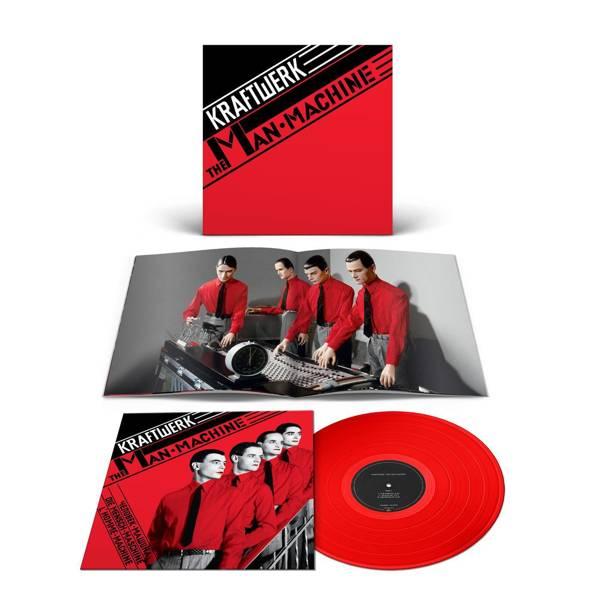 KRAFTWERK The Man-Machine LP Red Vinyl