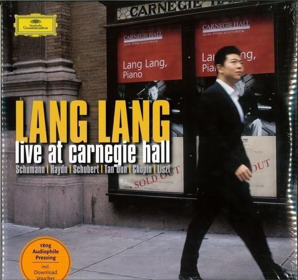 LANG LANG Live At Carnegie Hall 2LP
