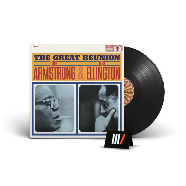 LOUIS ARMSTRONG & DUKE ELLINGTON The Great Reunion LP