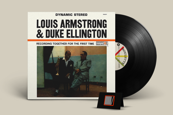 LOUIS ARMSTRONG & DUKE ELLINGTON Together For The First Time LP