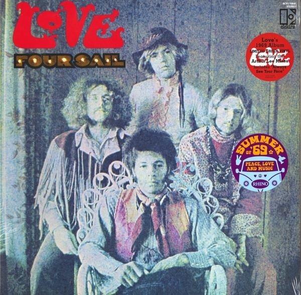 LOVE Four Sail (SUMMER Of 69 Campaign) LP