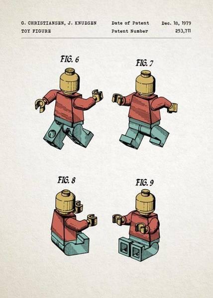 Ludzik Lego PLAKAT