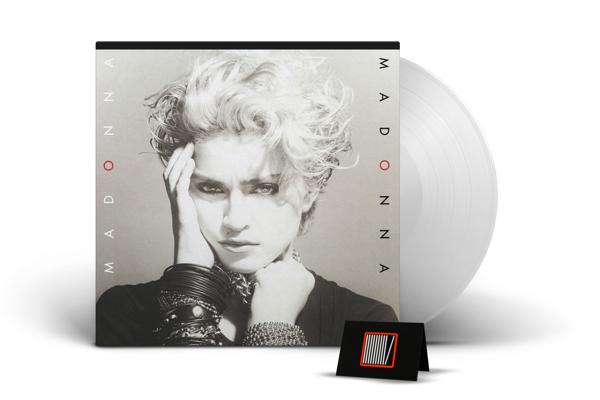 MADONNA Madonna (CLEAR Vinyl Album) LP