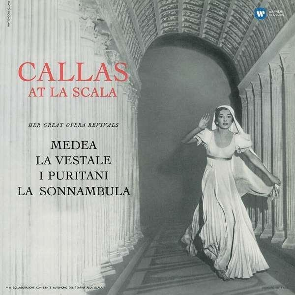 MARIA CALLAS Callas At La Scala (STUDIO Recital) LP