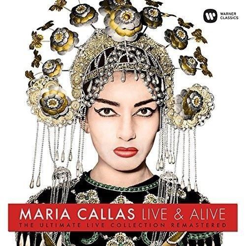 MARIA CALLAS Maria Callas: Live And Alive ! LP