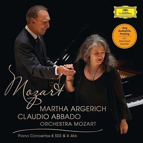 MARTHA ARGERICH Mozart Piano Concertos 25 & 20 LP